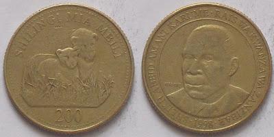 tanzania 200 shilingi