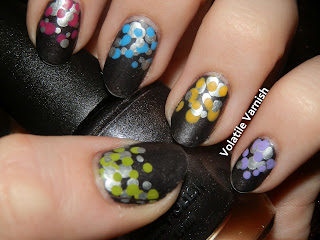 grey-rainbow-ikea-nail-art-nails-w7-pewter-dots-dotticure-doticure