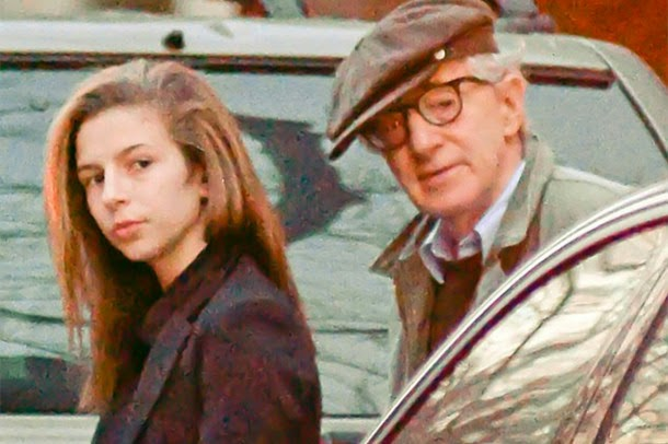 You Have the Chance to Look at Woody Allen's Rarely Seen Daughter