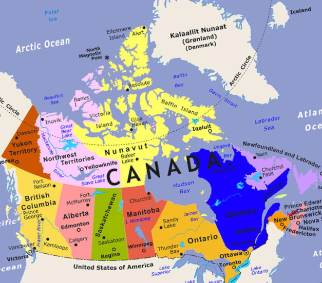 Canada Map - Map Pictures
