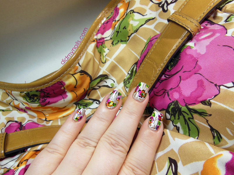 flower nail art inspiration