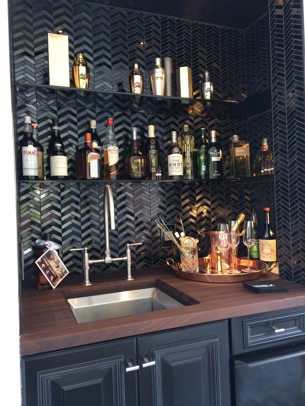 Sf decorator showcase part two classic casual home - Angolo bar a casa ...