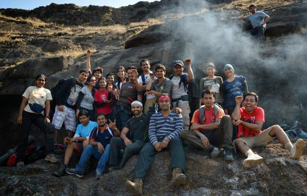 Our wonderful Alang - Madan Trek group