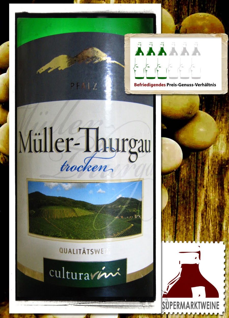 CulturaVini Müller-Thurgau Pfalz 2013 | Test und Bewertung