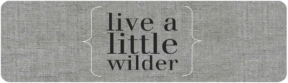 Live a Little Wilder