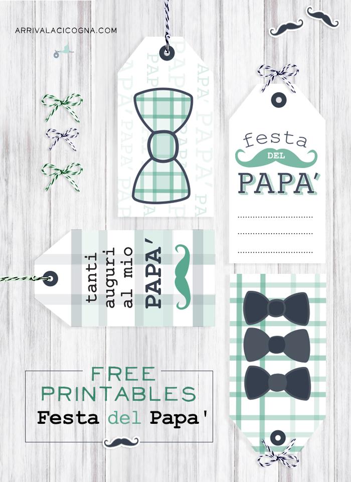 tag da stampare festa del papa'