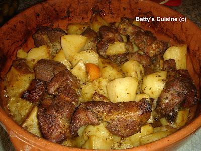 Χοιρινό στη γάστρα με πατάτες, καρότα και γλυκοπατάτα!