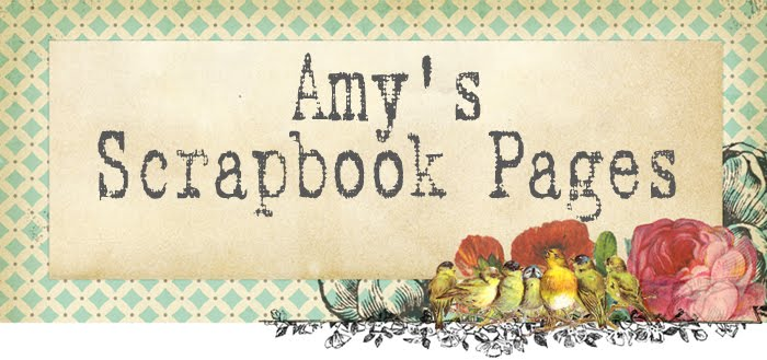 Amys Scrapbook Pages
