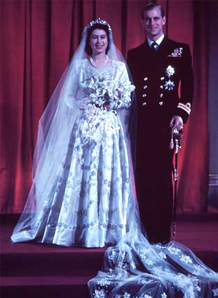 queen elizabeth wedding invitation. Queen Elizabeth at the Royal