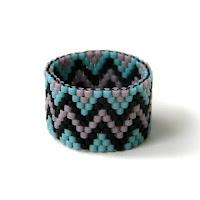 купить кольцо 18 размер подарок девушке из бисера этника