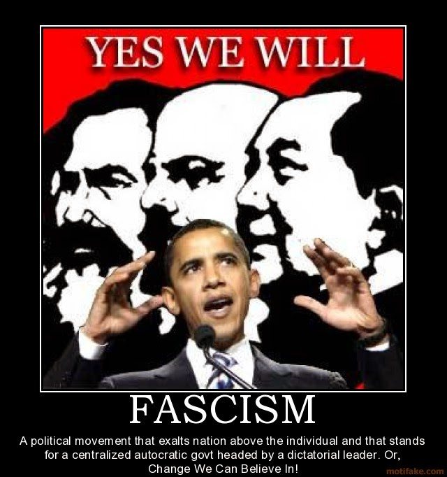 Image result for facism posters obama
