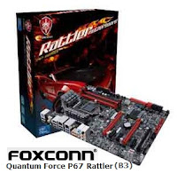 Motherboard Foxconn Quantum Force Rattler P67 (B3)