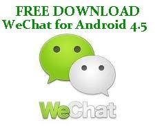 Aplikasi WeChat untuk Android 4.5
