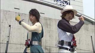 Kamen Rider W Philip Shotaro Henshin