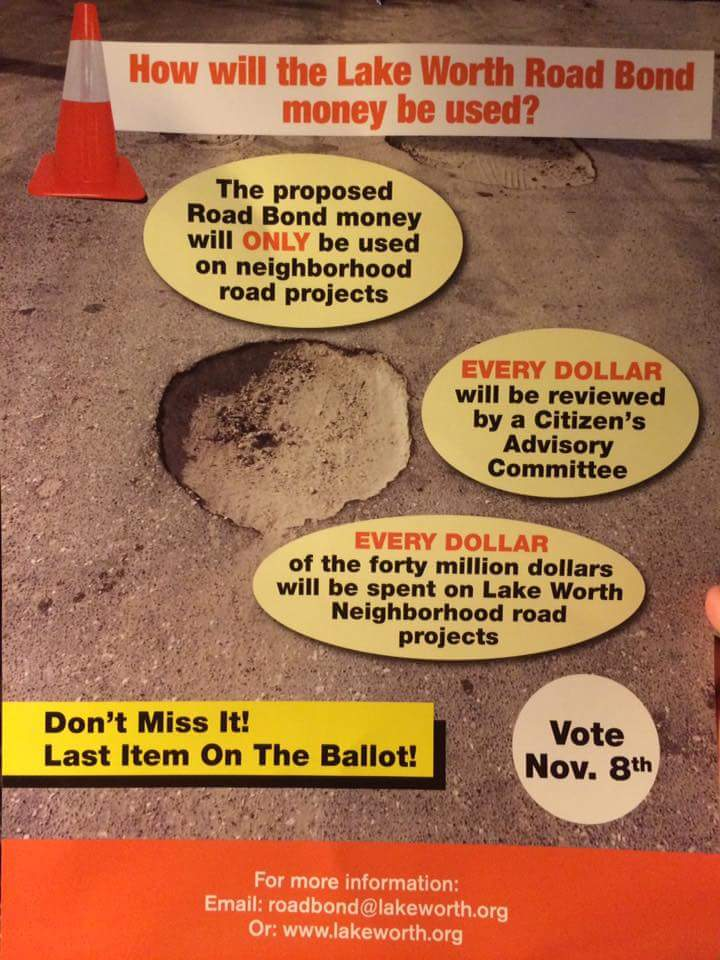 Very important: Our bond referendum IS ON LAST PAGE OF BAL- LOT. Vote in 18 days: