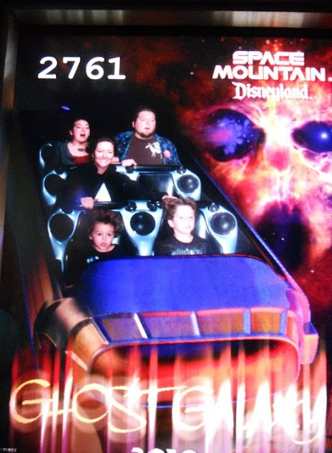Disneyland Space Moutain photo