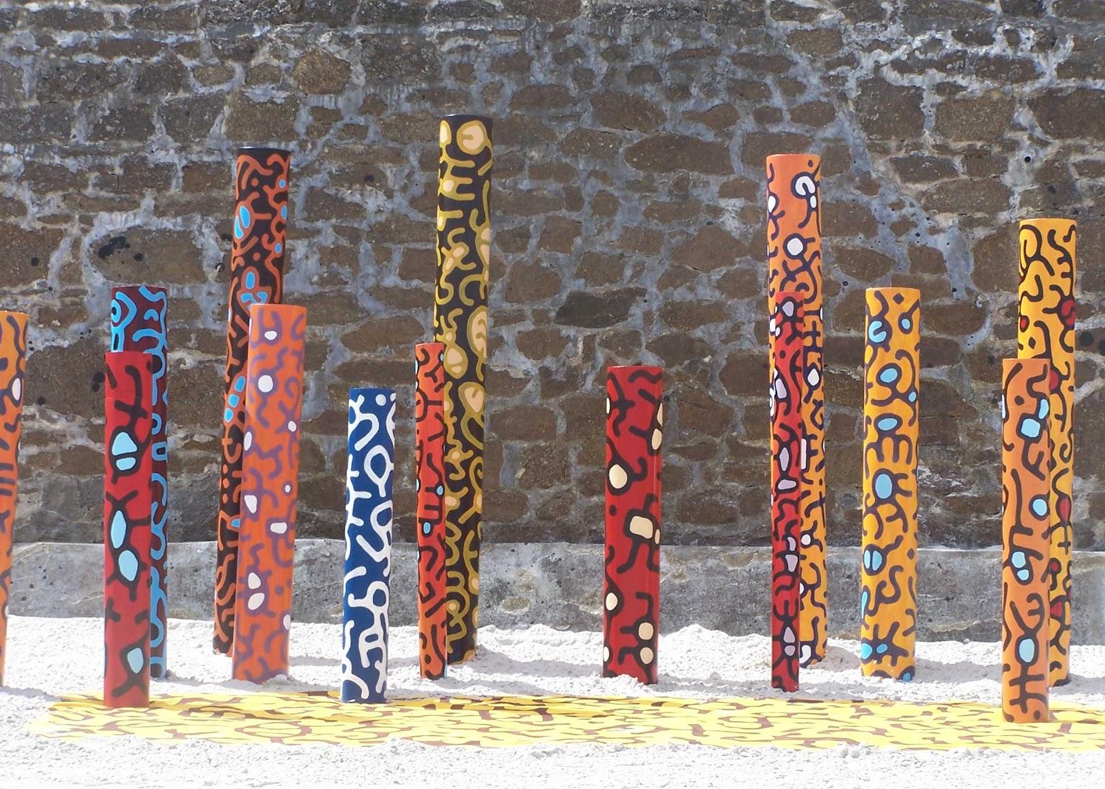 L 39 ivre de lettres et de couleurs couleurs de baie jean - Salon de jardin totem ...