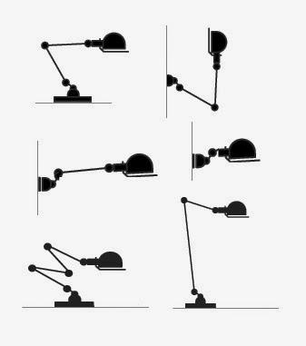 variedades lampara jielde