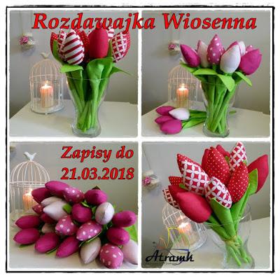 Tulipanowa rozdawajka u Atramk