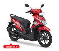 Honda BeAT FI CW Merah