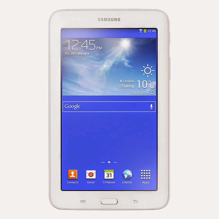 Tablet Andalan samsung untuk kategori gadget terbaru dan mempunyai spesifikasi terbaik yai Spesifikasi Samsung Galaxy Tab 3 Lite Wifi + 3G - 8 GB