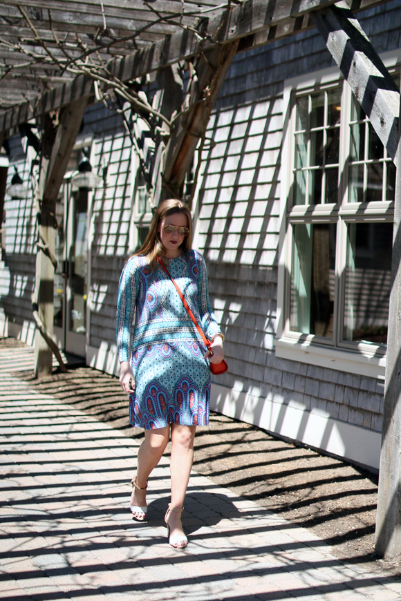 wedding wear, boston fashion blogger, style advice for bridal shower, what to wear, BCBG dress,