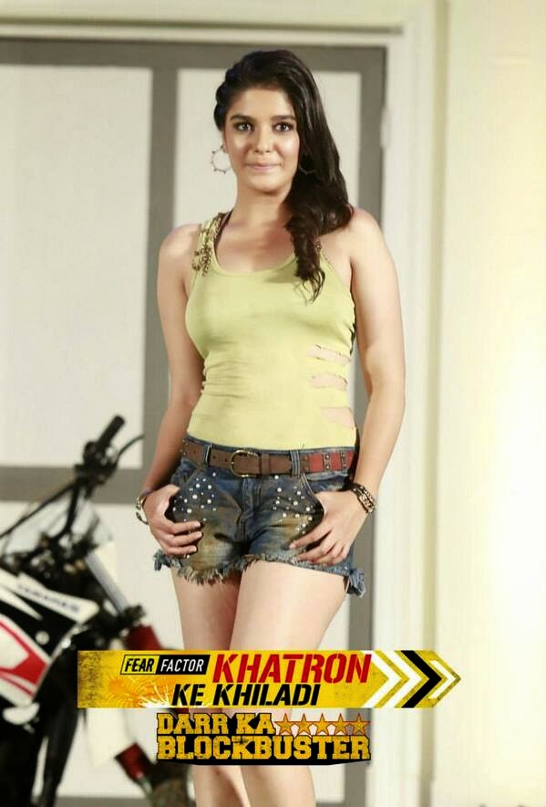 Pooja Gor in Fear Factor Khatron Ke Khiladi