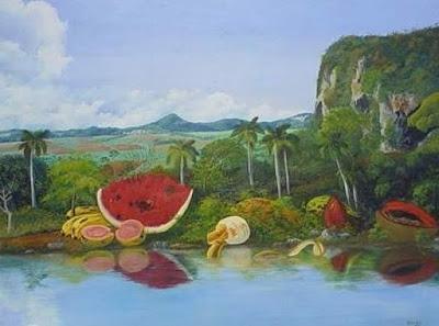 Cuadros Paisajes Panoramicos con Frutas
