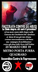 manifesto fiaccolata 23 marzo