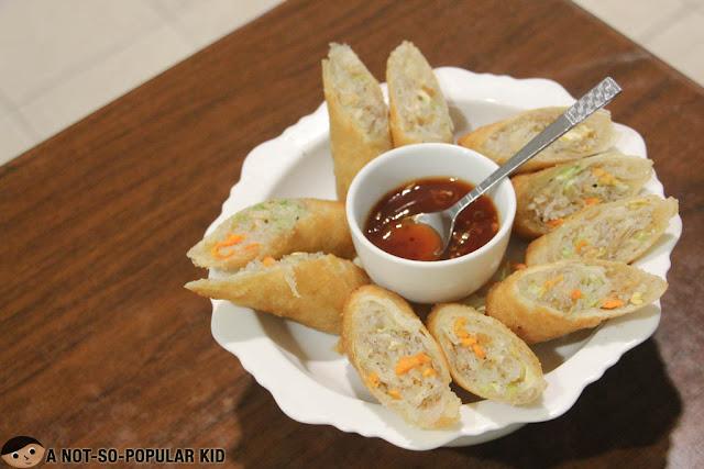 Thai Fried Springrolls (Poh pia)