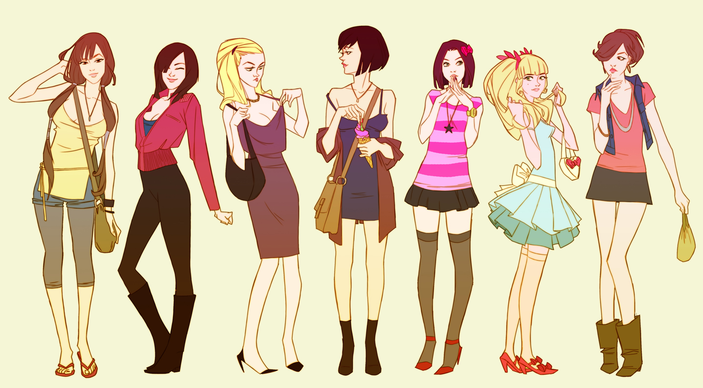 Fashion girls!