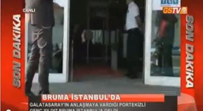 Bruma chega à Turquia e não tem ninguém à espera dele