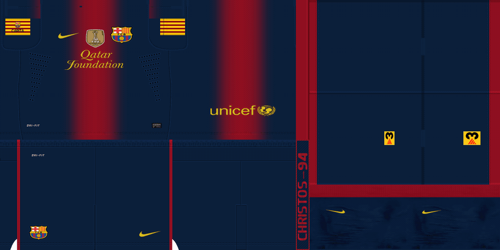 Download image Kit Home Barcelona Fc 12 13 By Christos 94 PC, Android ...