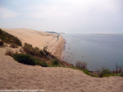 Quintessentially english expat lifestyle and travel blog travel tuesday lunch at la co o rniche - Dune du pilat restaurant ...