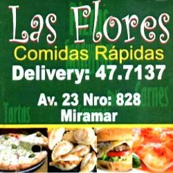 LAS FLORES-COMIDAS RÁPIDAS