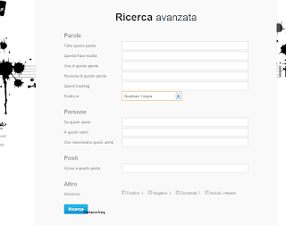 Ricerca Twitter social