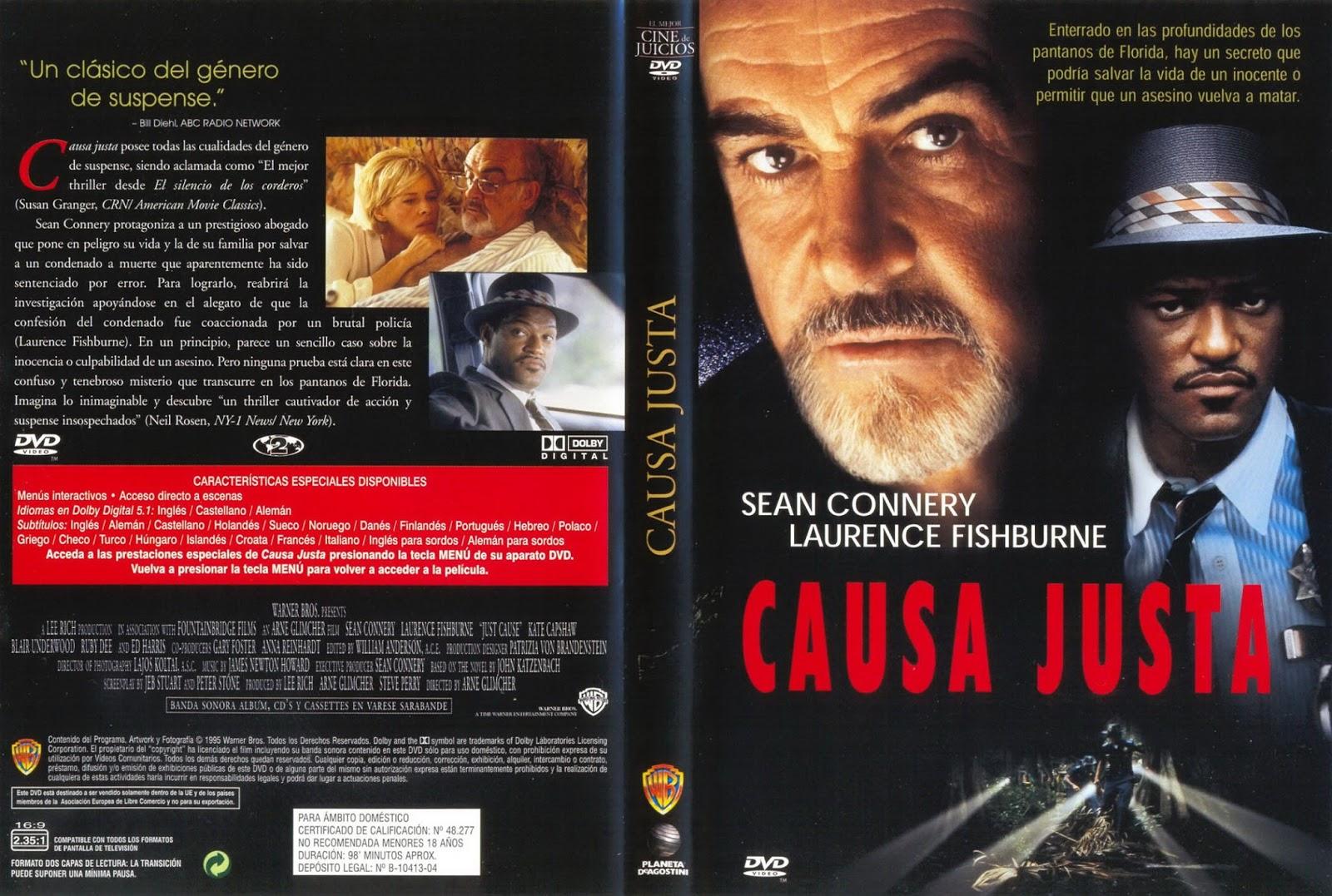 MI ENCICLOPEDIA DE CINE: 1995 - Causa Justa - Just cause Carteles1600 x 1077