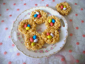 Rice Krispie BIRD NEST
