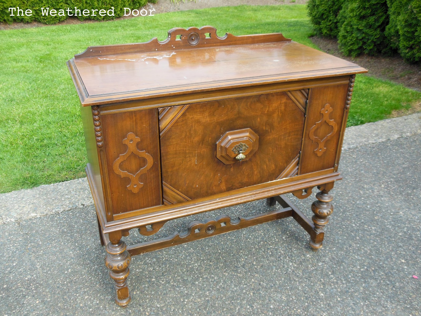 ... Table Antique Buffet Sideboard Benefits Small Antique Buffet The  Weathered Door Small Antique Buffet Watchthetrailerfo ...