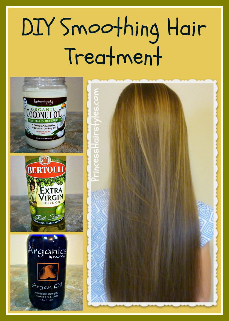 DIY Hair Smoothing Treatment Hairstyles For Girls
