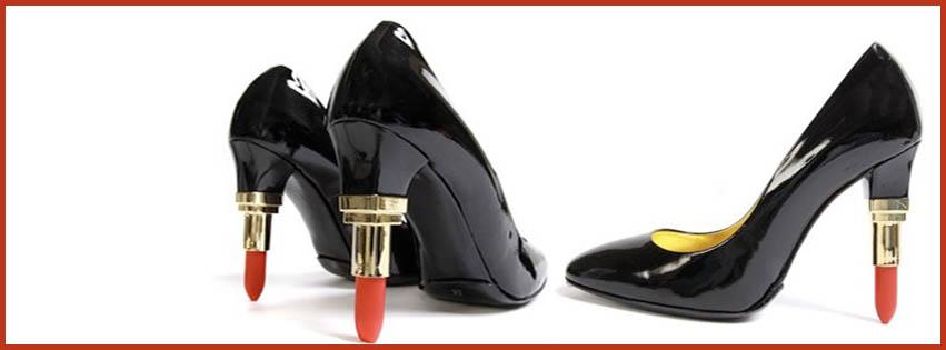 Girls Black Heel Pumps