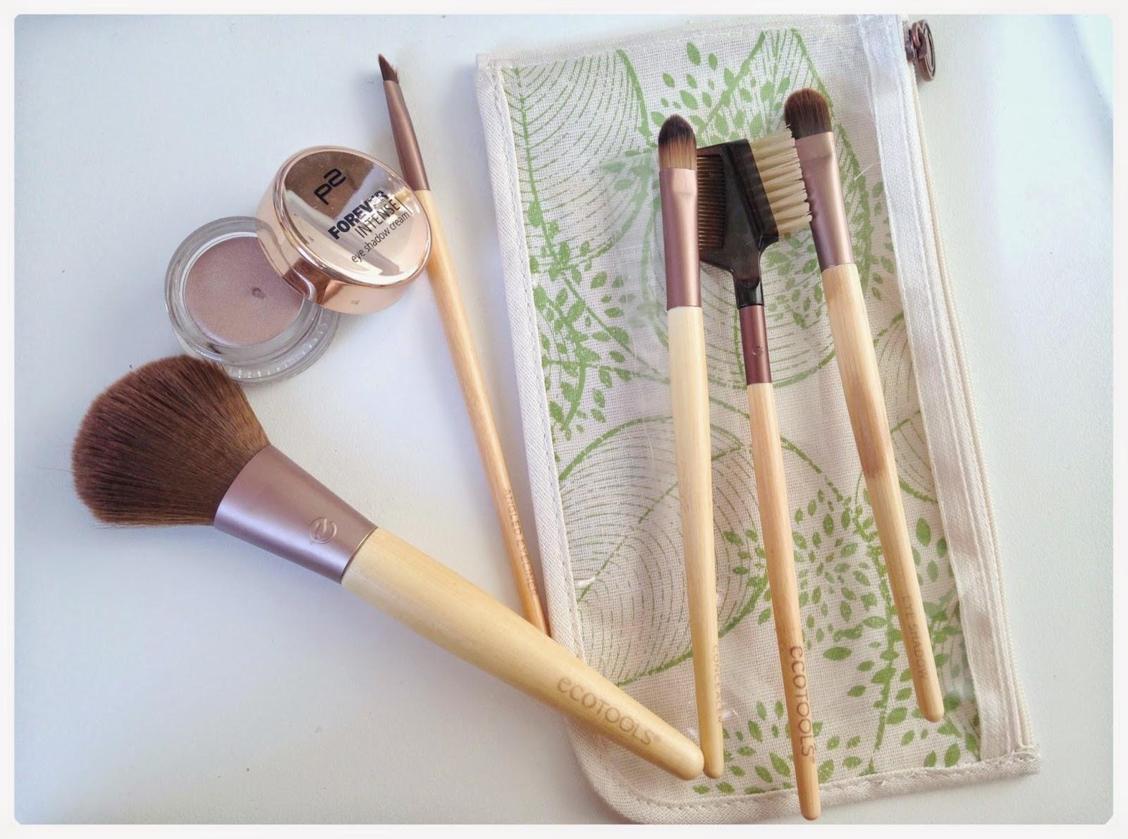 woodybeauty blog beauté pinceaux ecotools fard crème p2
