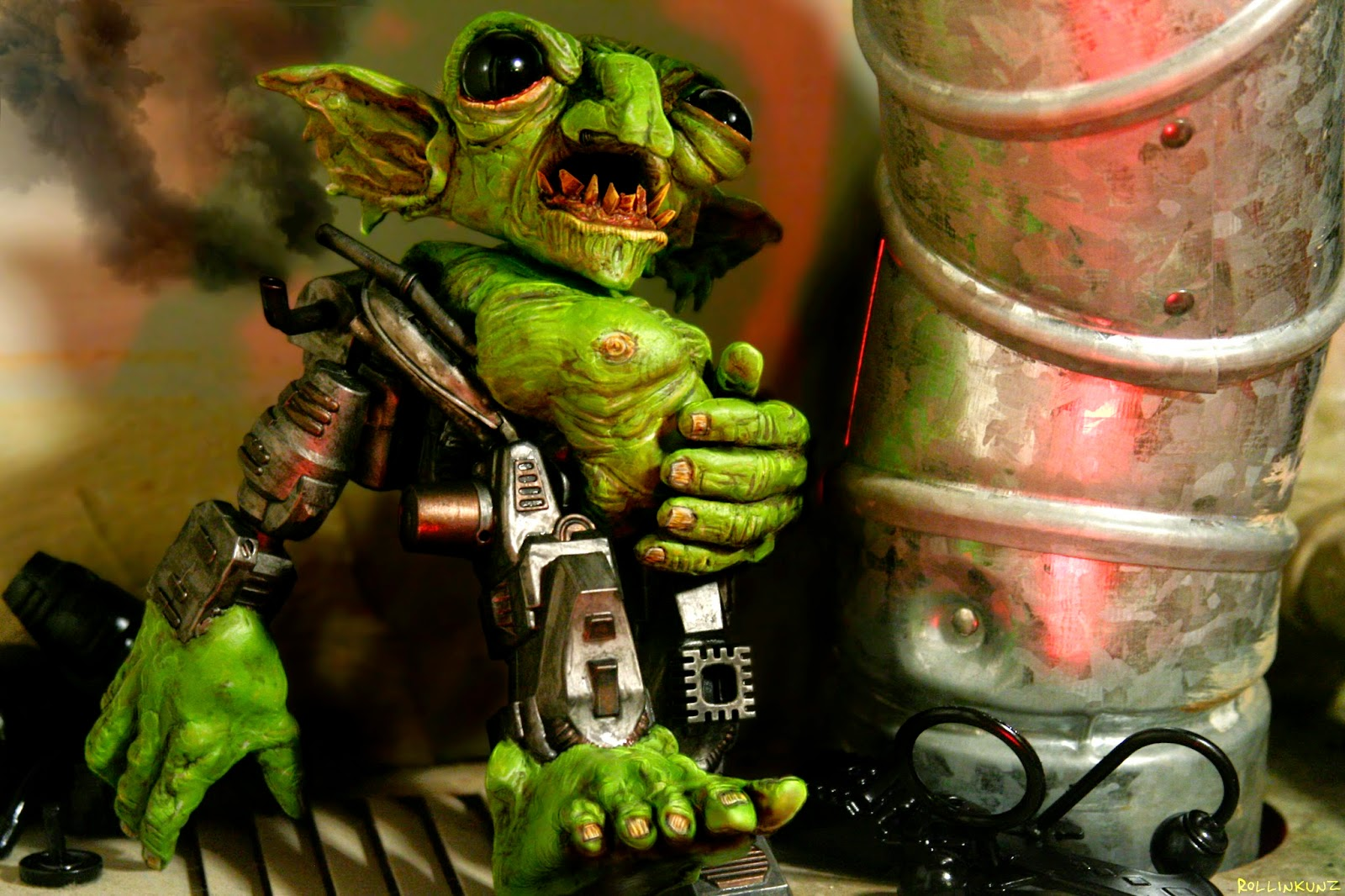 Goblin Junkyard Steamborg