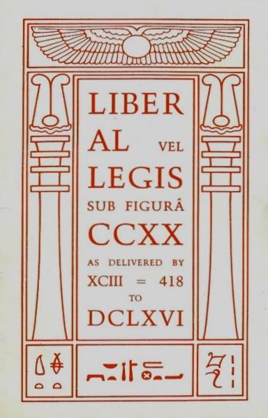 """""""El Libro de la Ley"""" de Aleister Crowley"""