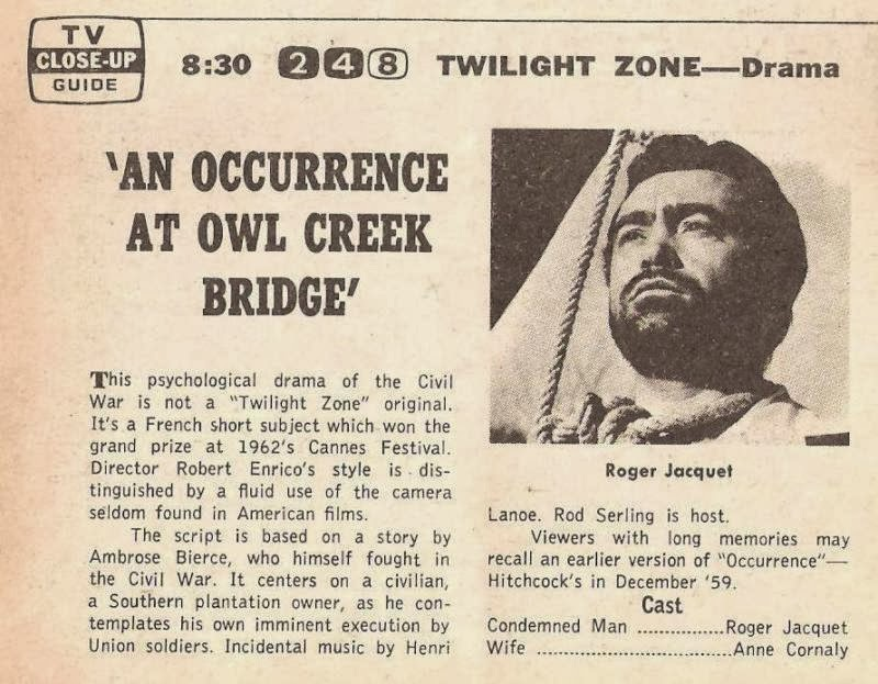 an essay on the short story an occurrence at owl creek Free essay: ambrose bierce's short story an occurrence at owl creek bridge tells a story during the american civil war peyton farquhar, an ardent supporter.