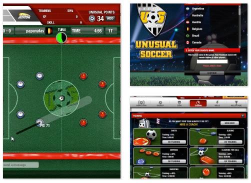 FB Game : Unusual Soccer