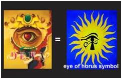 simbol mata satu di dalam album