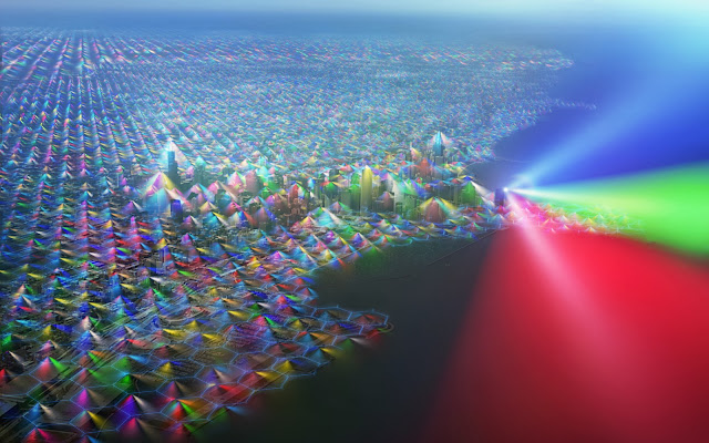 визуализация сотовой сети