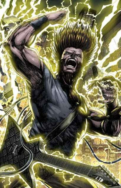 Wayne Static comic