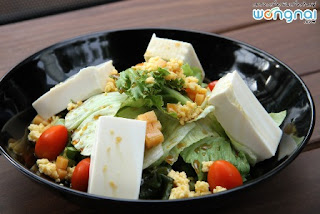 Silken tofu salad recipe